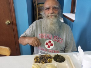 Hope House Mission dinner guest